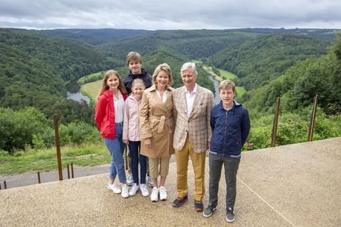 king philip and queen mathilde holidays in luxembourg