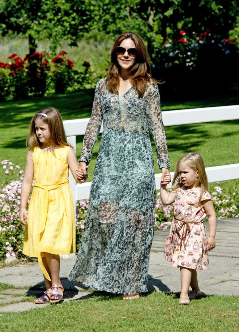 the danish royal family hold annual summer photocall