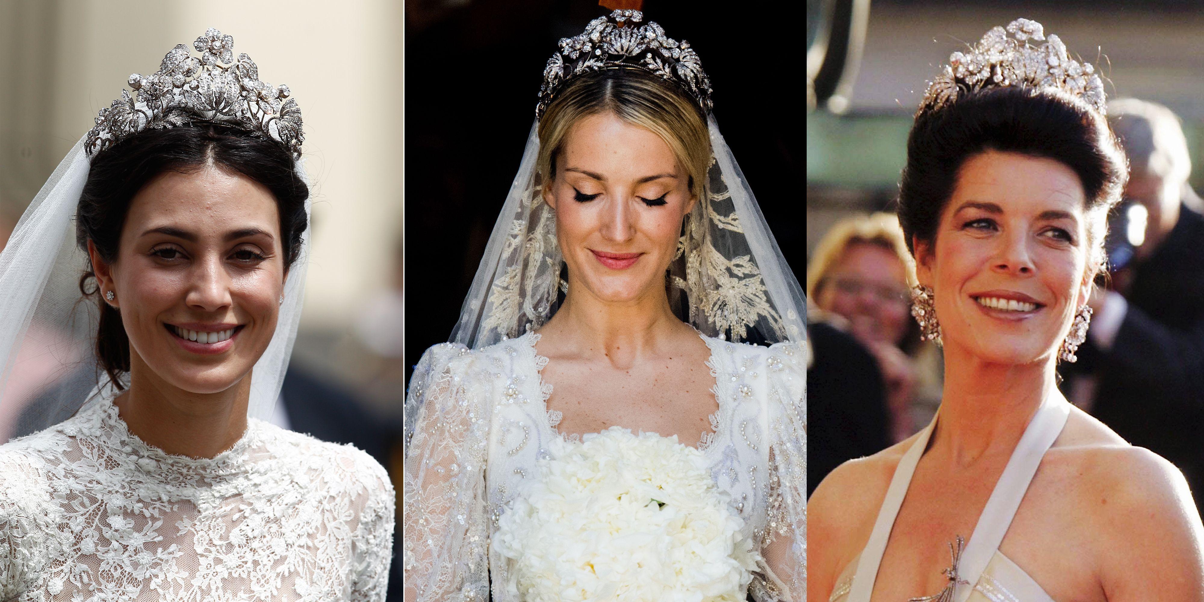 Hanover floral tiara alessandra de osma wedding tiara details izmirmasajfo Images