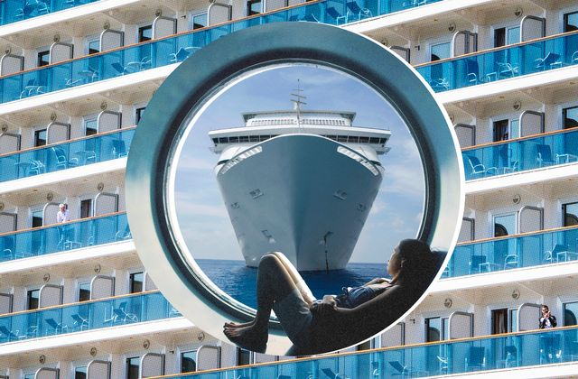 cruise ship window