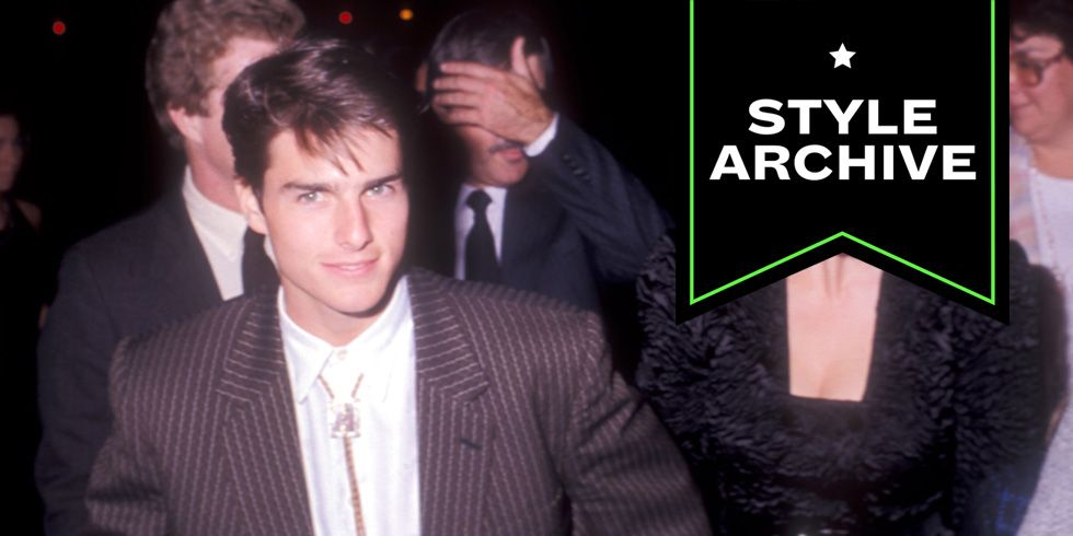 Tom Cruise's Tailoring Always Made A Statement