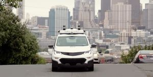 GM autonomous tester in San Francisco