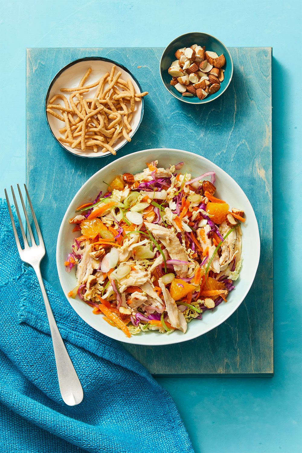 Crunchy Turkey Salad with Oranges