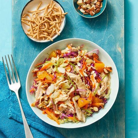 Crunchy Turkey Salad with Oranges