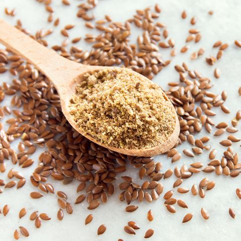 foods for constipation - ground flaxseeds