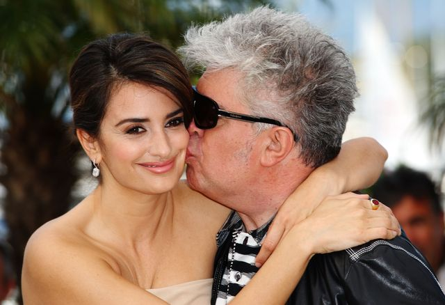 cannes, france   may 19  director pedro almodovar and actress penelope cruz attend the broken embraces photocall held at the palais des festivals during the 62nd international cannes film festival on may 19th, 2009 in cannes, france  photo by gareth cattermolegetty images