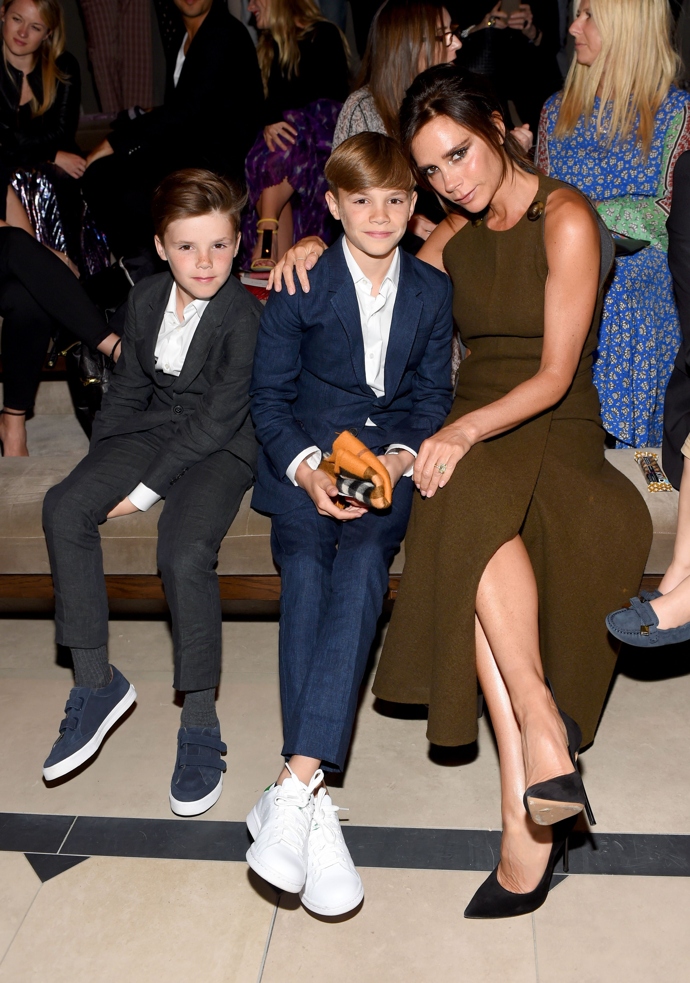 Watch Victoria And Romeo Beckham Dance To 'Spice Up Your Life'