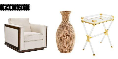 Vase, Furniture, Wicker, Table, Chair, Beige, Artifact,
