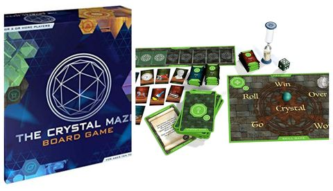 Crystal Maze board game photo