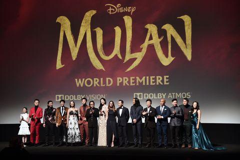 "Los Angeles World Premiere Of Disney's ""Mulan"""