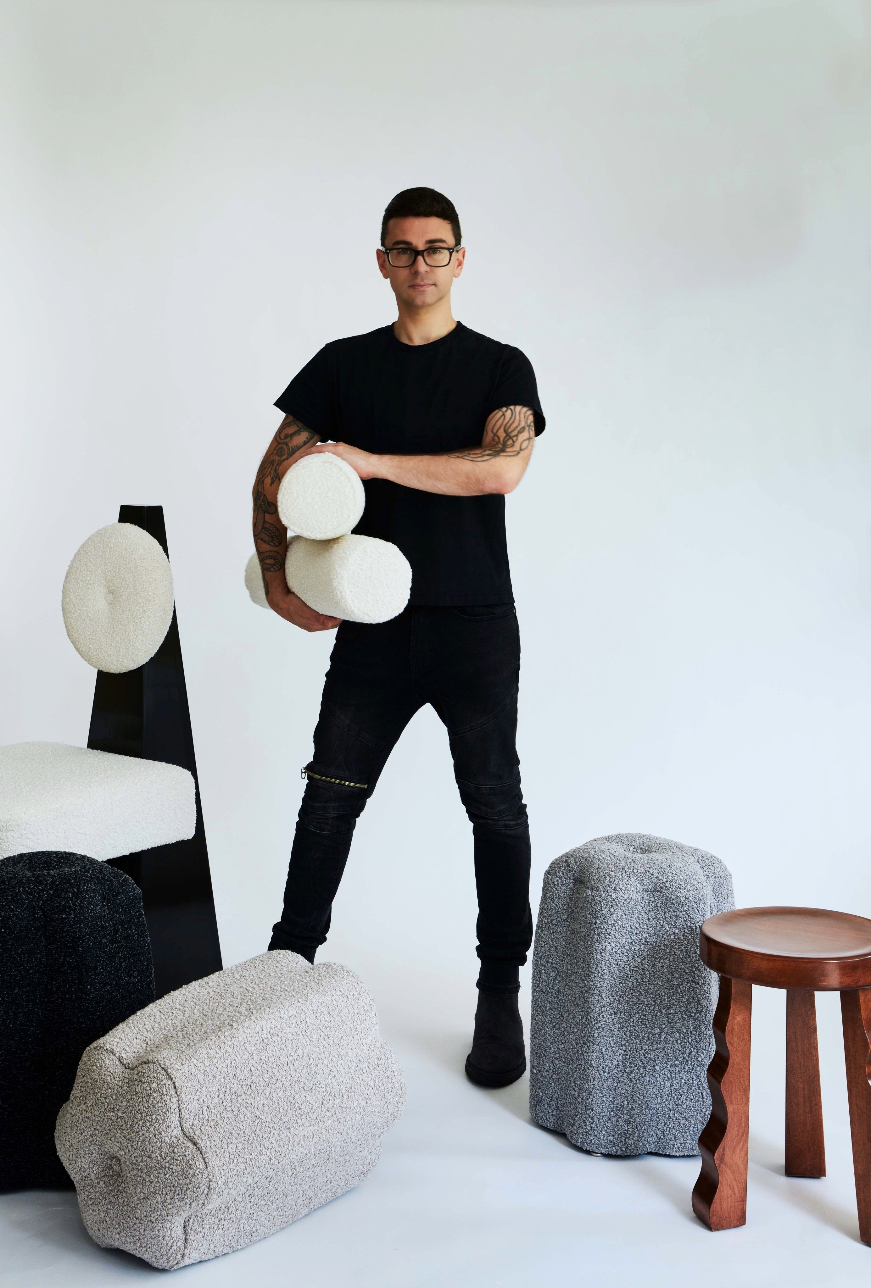 Christian Siriano's First Furntiure Collection Is a New Take on Midcentury Silhouettes