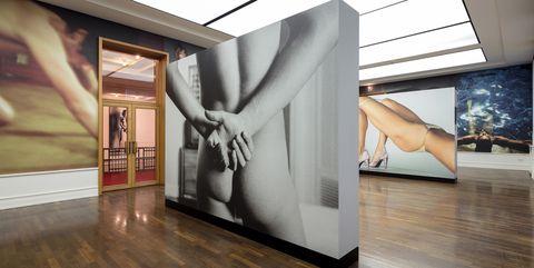 Interior design, Room, Floor, Wall, Hardwood, Wood flooring, Modern art, Wood, Design, Architecture,