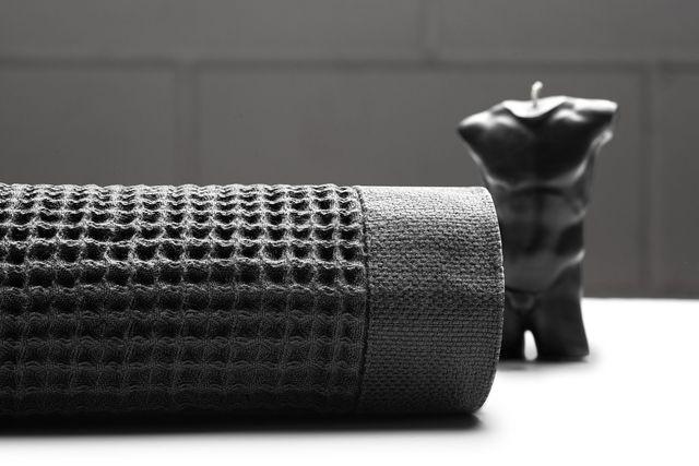 casamera waffle knit towel