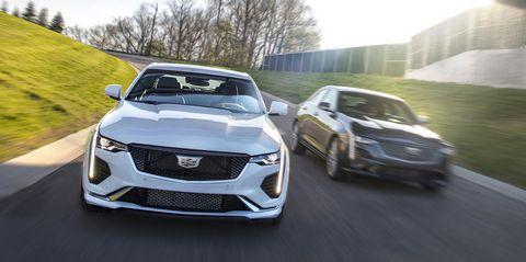 2020 Cadillac CT4 Sedan Lineup Comes into Focus