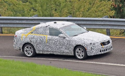 Cadillac CT4 Spy Photo