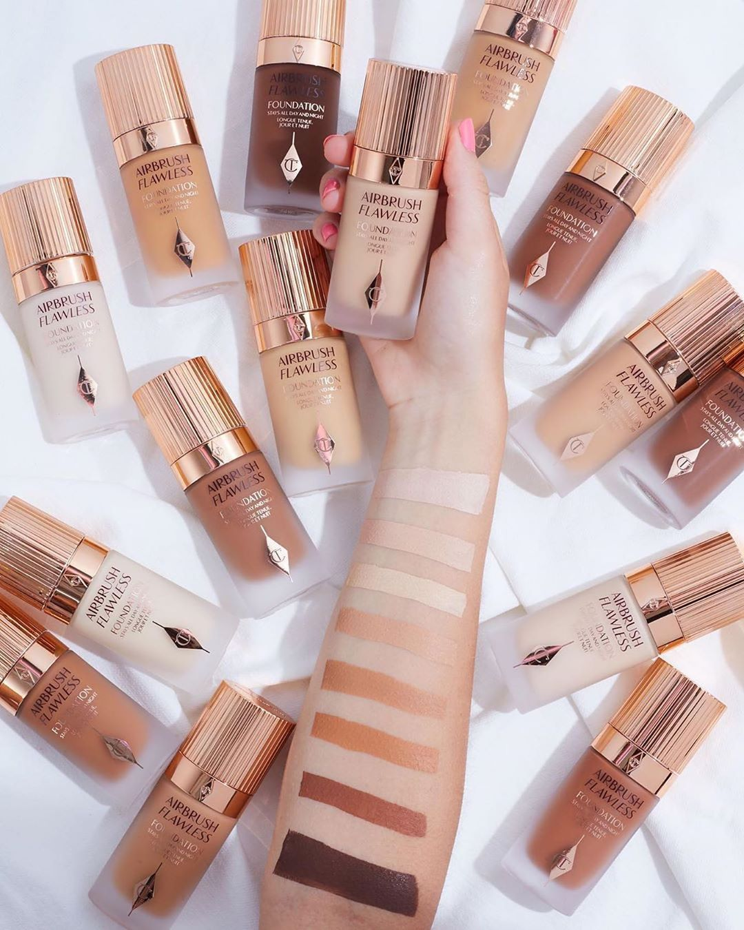 Charlotte Tilbury Airbrush Flawless Foundation Is Finally Here