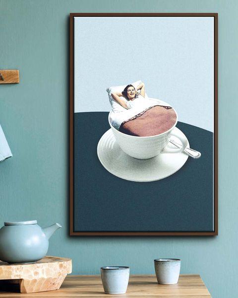 ilustración rituales mañaneros del artista marteen léon