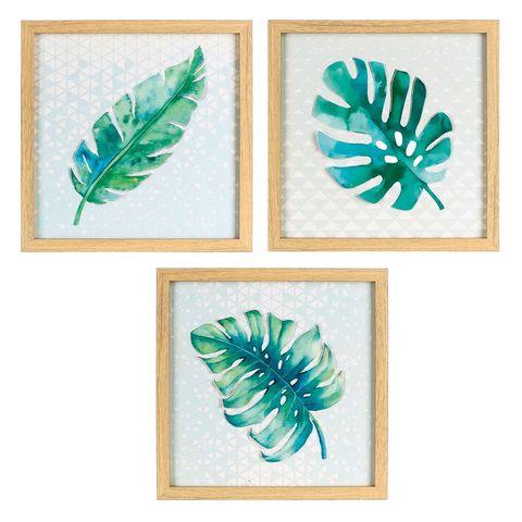 Motivos vegetalesCuadros con hojas