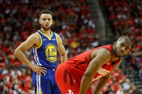 Stephen Curry Chris Paul pique NBA