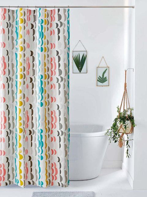 lavar la cortina del baño