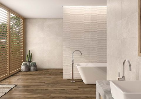 Tile, Bathroom, Room, Floor, Interior design, Property, Wall, Flooring, Tap, Ceramic,