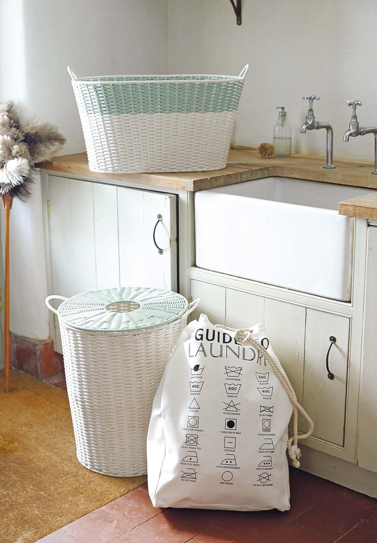 Ideas para organizar el cuarto de lavado y plancha