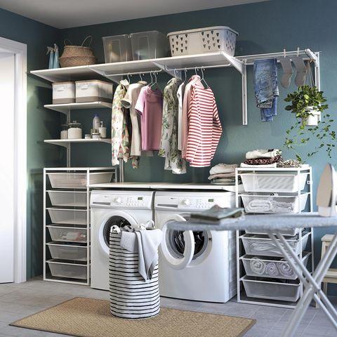 cuarto de lavado y plancha