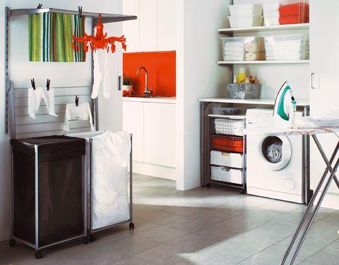 outlet(mk) zapatos clasicos disfruta el precio de liquidación Cómo crear una zona de lavado y plancha bien aprovechada