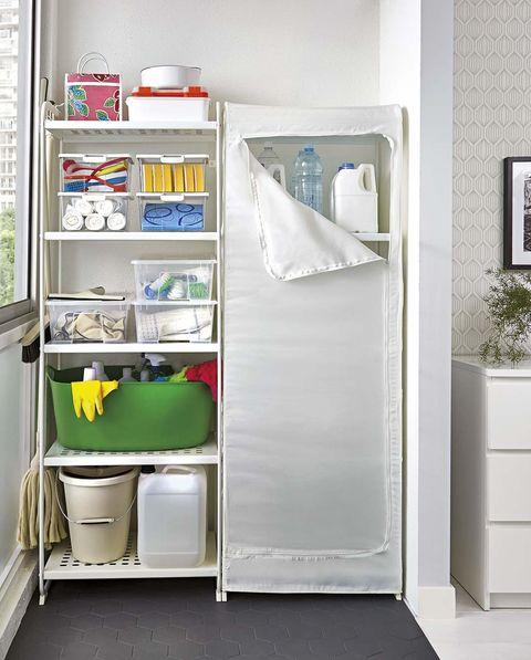 Organizar los productos de limpieza - Orden