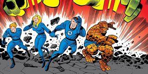 Cuatro Fantásticos comic