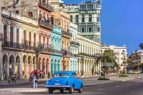 havana is the capital city of cuba with spanish colonial architecture in its 16th century