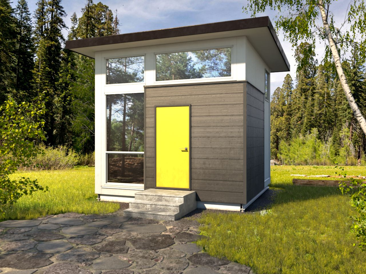 Amazon Is Selling a Nomad Cube Tiny Home That Won't Break the Bank