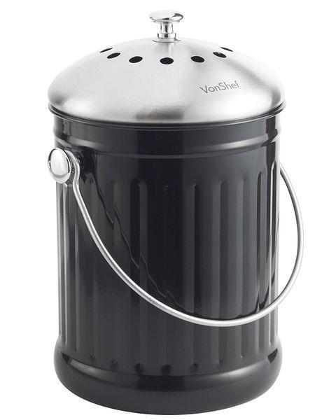 Cubo para basura orgánica con filtro olores