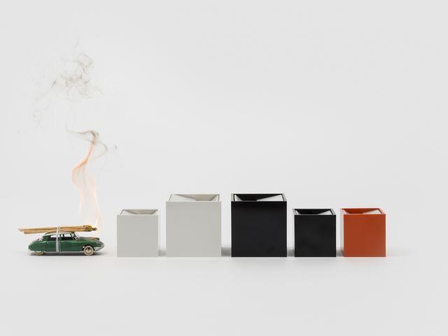 Cubo di Bruno Munari, posacenere cult del design italiano
