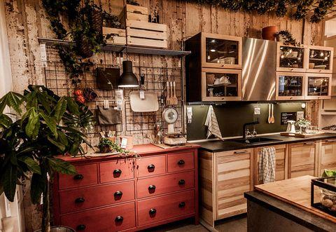 La cucina Ikea a Roma con un pop-up store