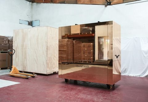 La cucina mobile di Mauviel 1830 firmata REV architecture