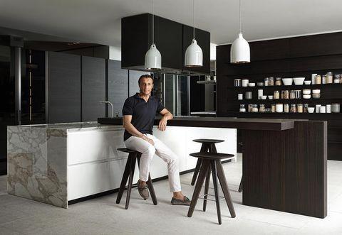 Intervista a Carlo Colombo sulla cucina moderna Trail di Poliform ...