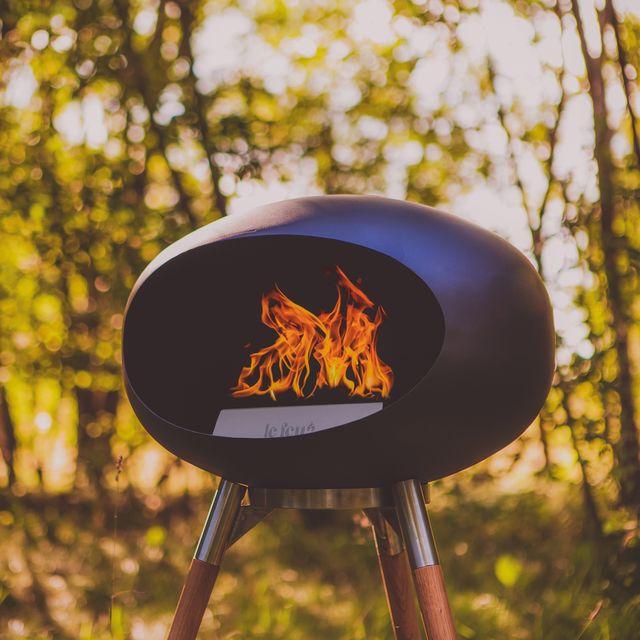 cuckooland, le feu ground wood bio ethanol fireplace