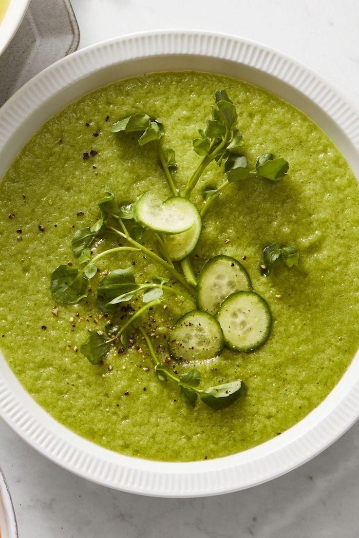 Cucumber-Melon Soup