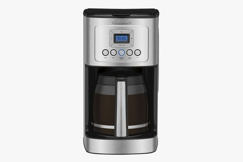 Cuisinart Stainless Steel Programmable 14-Cup Coffee Maker. Best Overall