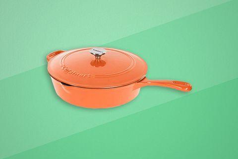 Lid, Orange, Product, Cookware and bakeware, Tableware, Frying pan, Ceramic, Saucepan,