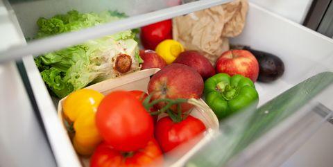 cuisine bac à légumes