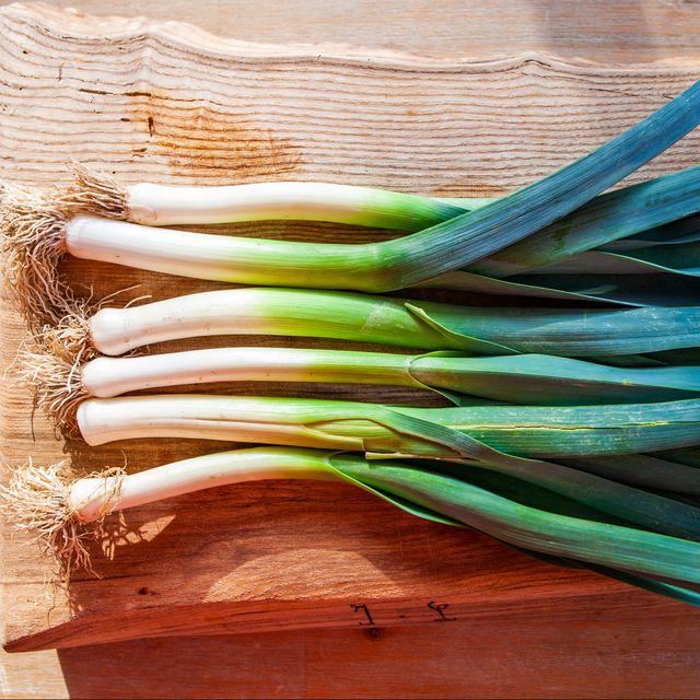 cuisine   légumes du jardin, le poireau