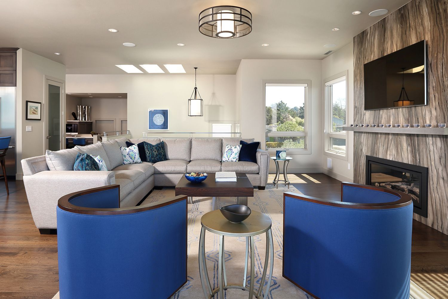 Marine style: use in the interior 55 photos