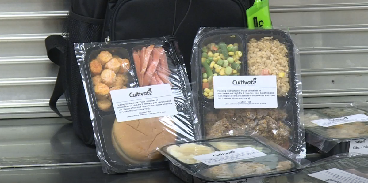 An Indiana School Is Turning Its Leftover Cafeteria Food Into Frozen Take Home Meals For Kids