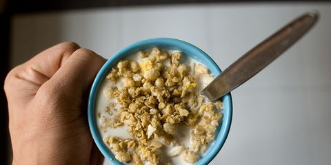 Cup of cereal
