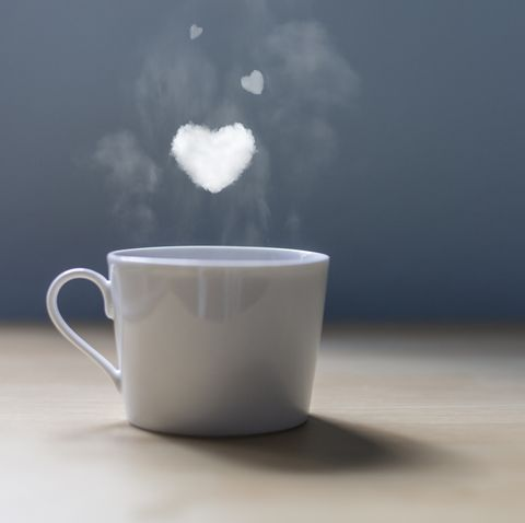 A cup of coffee with lots of love