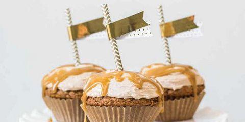 High-Rise Pumpkin Cupcakes