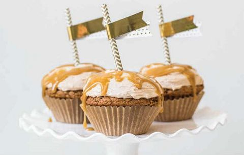 High-Rise Pumpkin Cupcakes