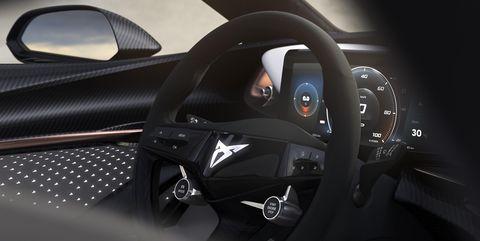 Cupra Concept eléctrico interior